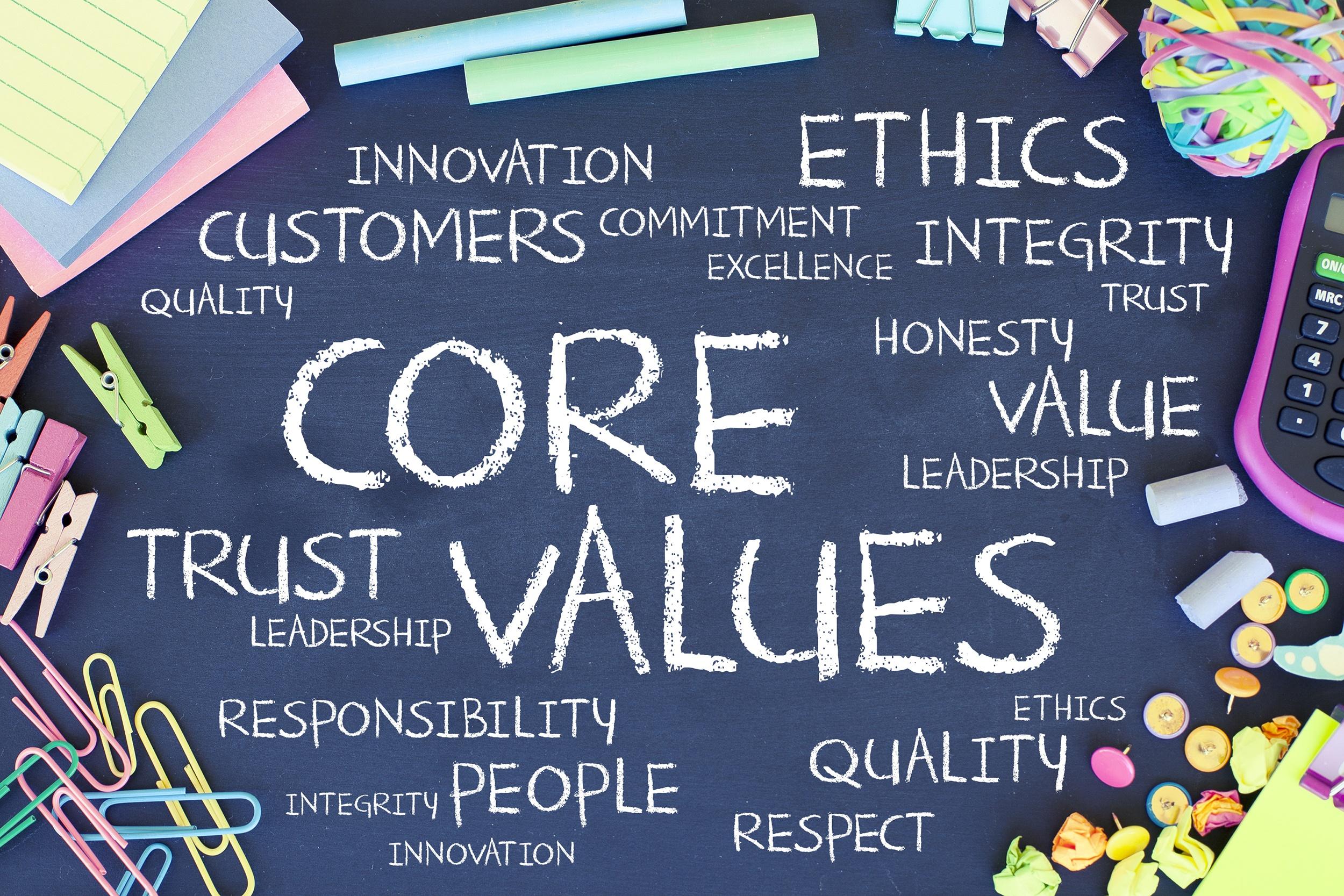myphilanthropy, valeurs d'entreprise