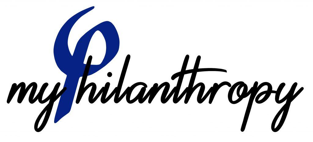 Logo myphilanthropy, mécénat, philanthropie, pascale strubel