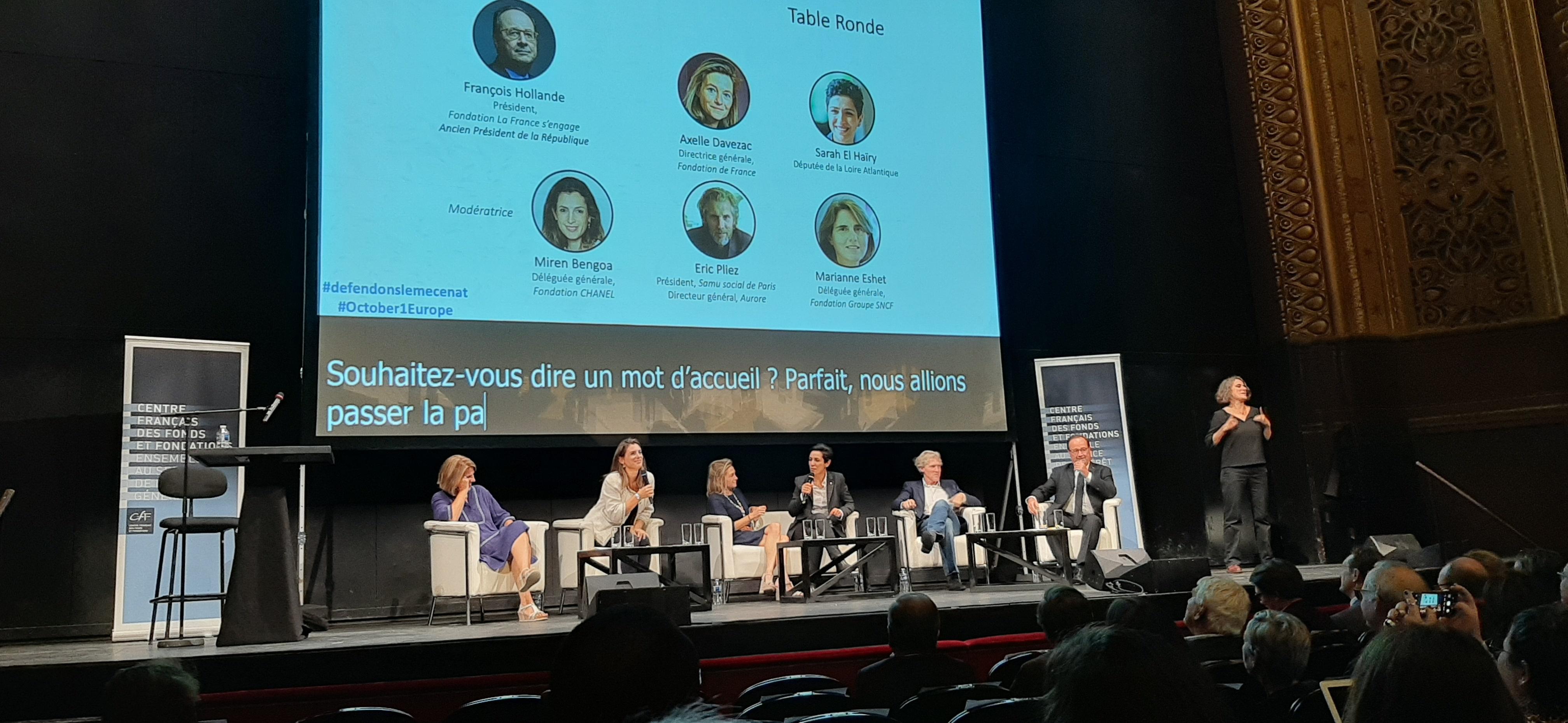 Colloque du CFF au Châtelet le 30 septembre